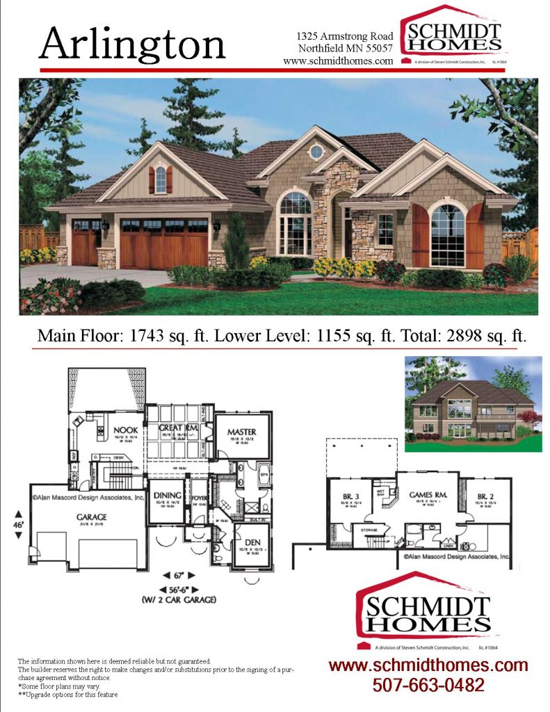 OneStory Homes – Floor Plans For One Story Homes