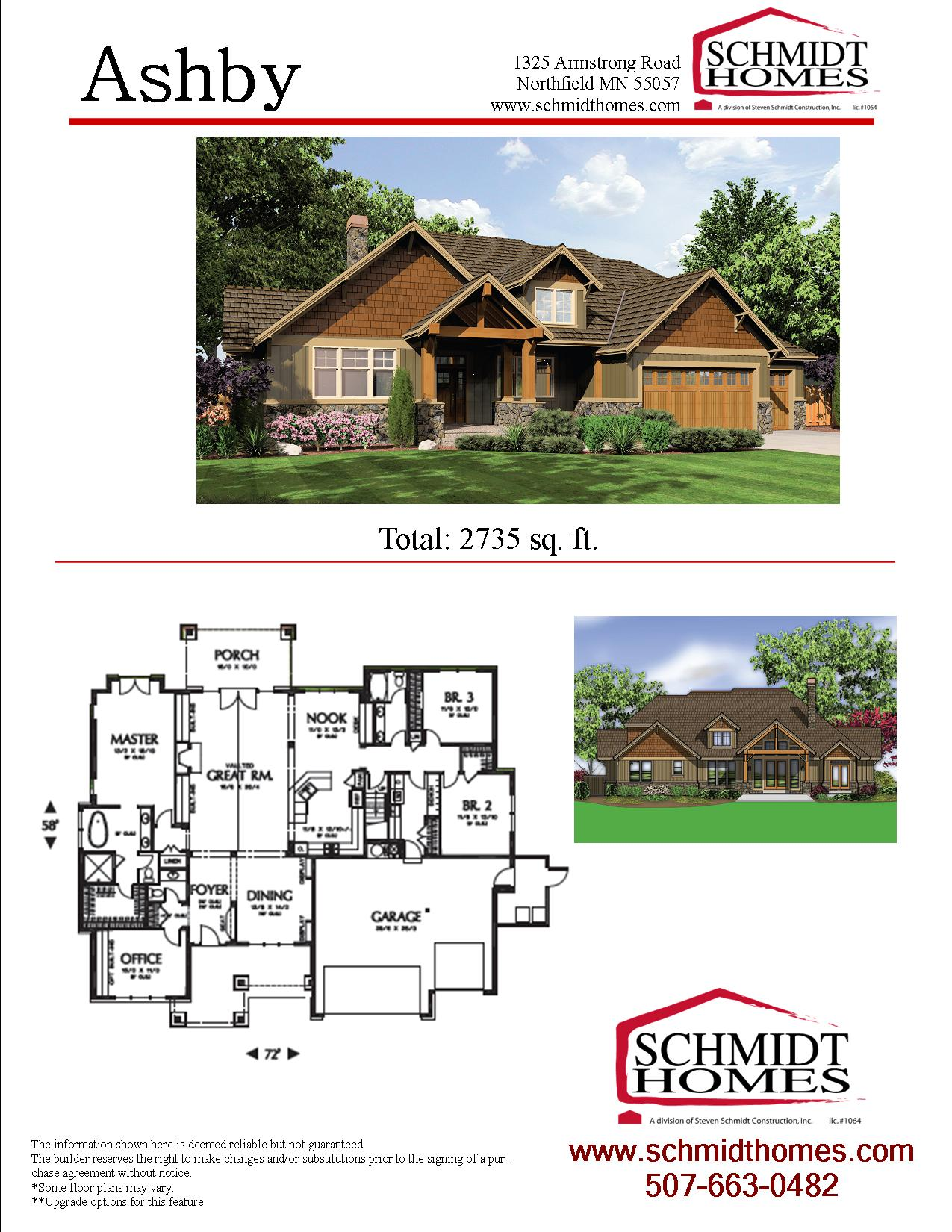 Ashby schmidt homes for Ashby house plan