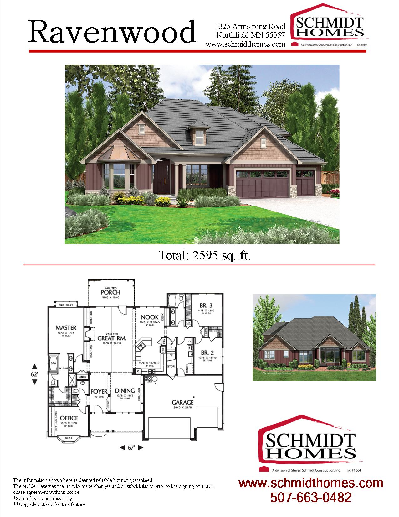 Ravenwood schmidt homes for Ravenwood homes