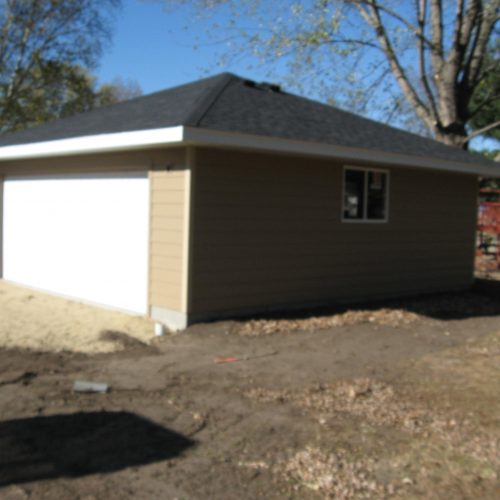 New Detached Garage