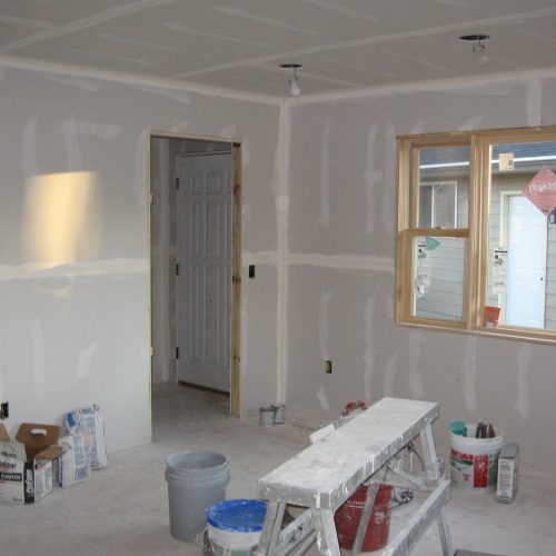 Interior of Garage Conversion
