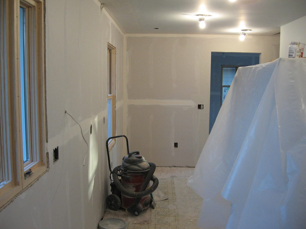 Northfield Kitchen And Garage Remodel In Progress