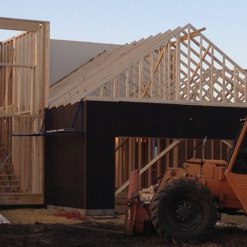 New Home Construction - Framing