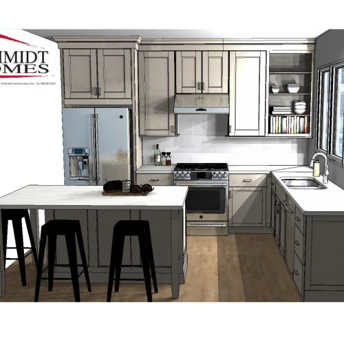 2013 Kitchen Rendering